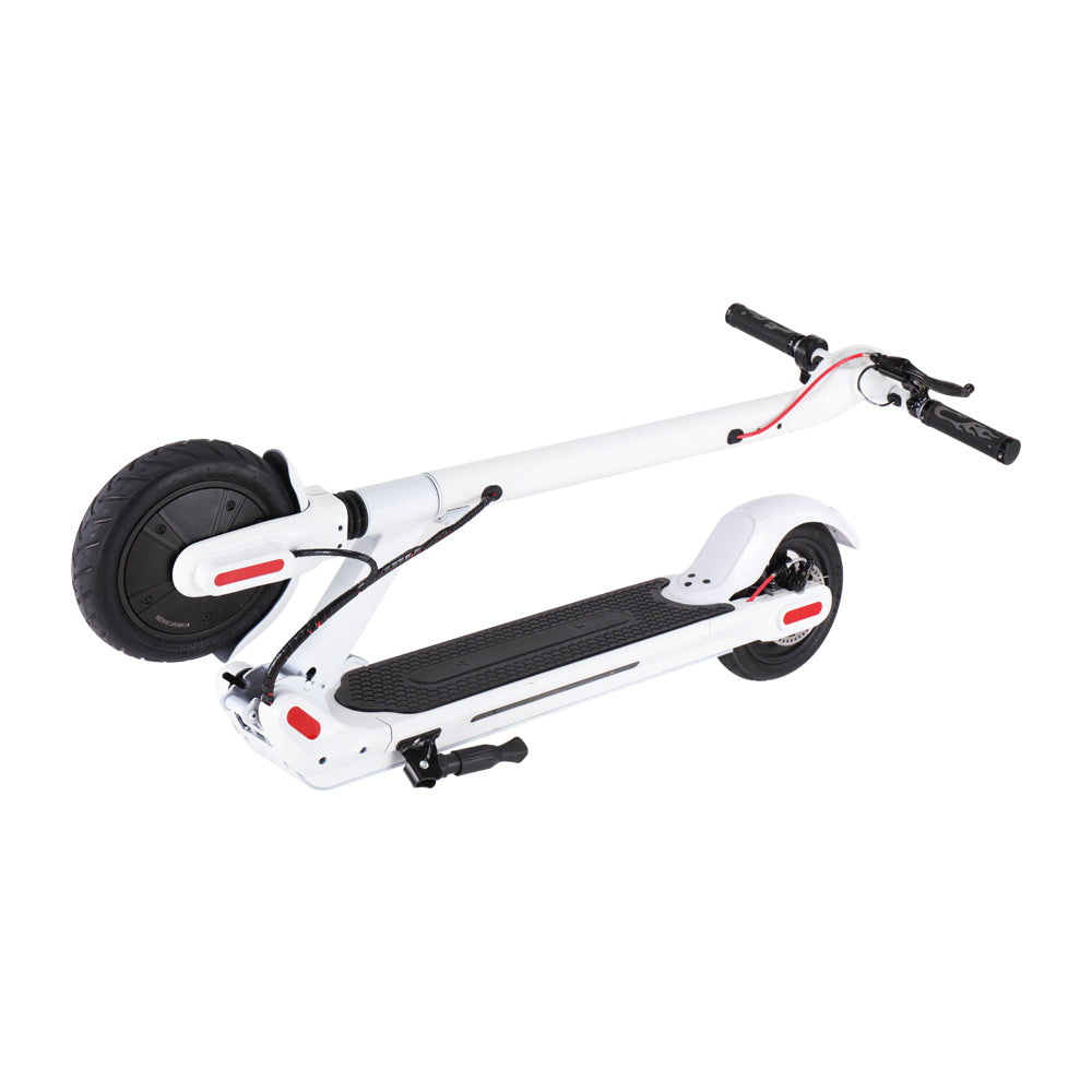 GlareWheel Pro S10 Electric Scooter 8.5 Inch Foldable White-GlareWheel