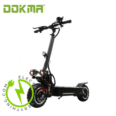 Dokma Extreme High Performance All Wheel Drive High Voltage Scooter 3200 watts!