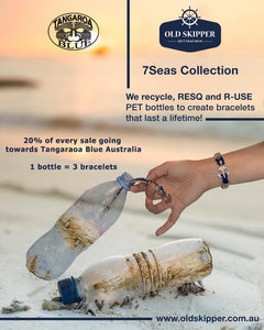 7Seas Collection transforms plastic bottles into bracelets - which like magic