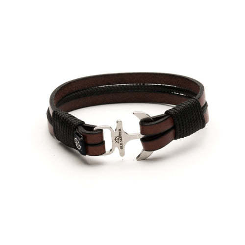Astern - Leather Black Rope Bracelet
