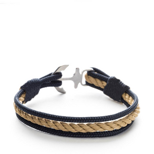 Barbarossa - Nautical Rope Anchor Bracelet