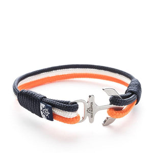 Sky Nautical Marine Rope Anchor Bracelets