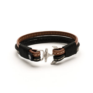 Ventura - Nautical Leather Bracelet