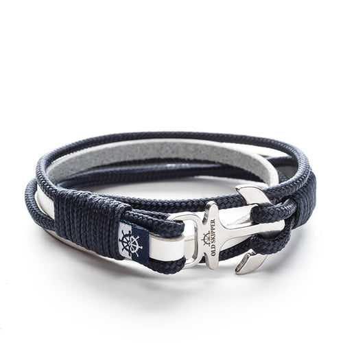 Astrid - Nautical Leather Bracelet