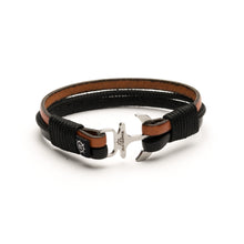 Daytona - Leather Rope Anchor Bracelet