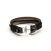 Havana - Anchor Leather Rope Bracelet