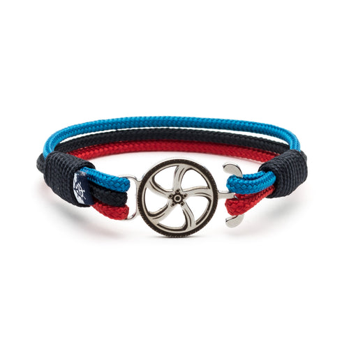 M - Nautical Rope Motorsport Bracelet
