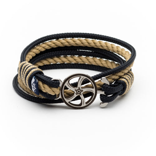 Alboreto - Nautical Rope Motorsport Bracelet