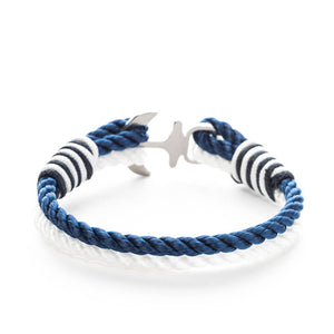 Rivalta Nautical Marine Rope Anchor Bracelets