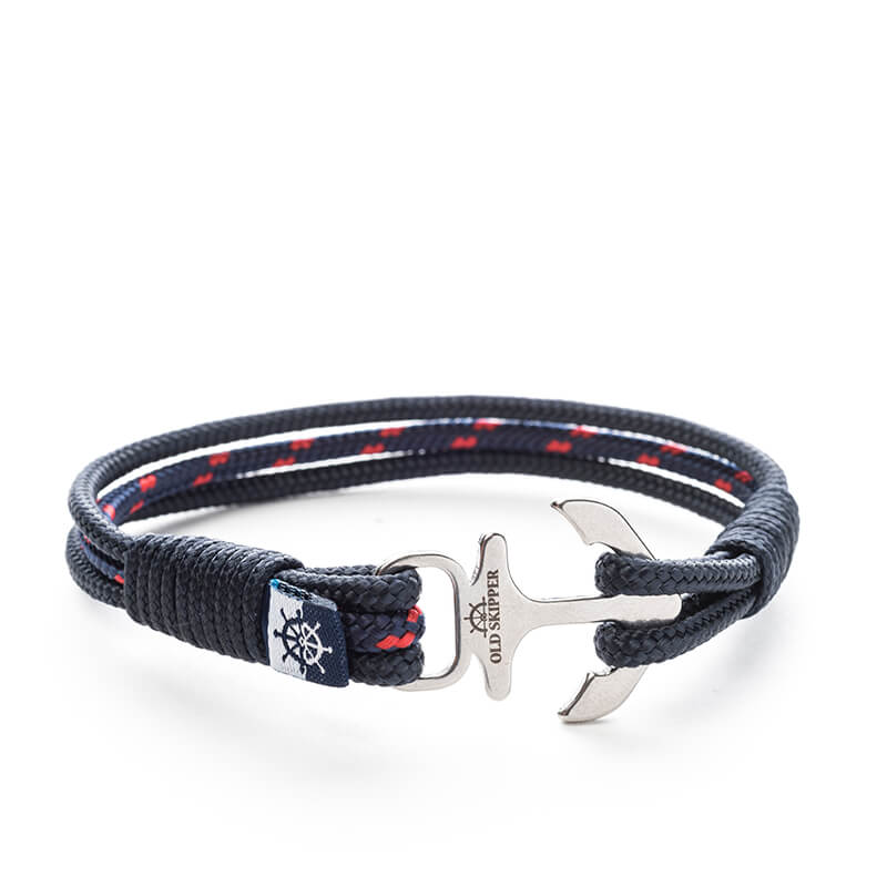 Fabiano Nautical Marine Rope Anchor Bracelets