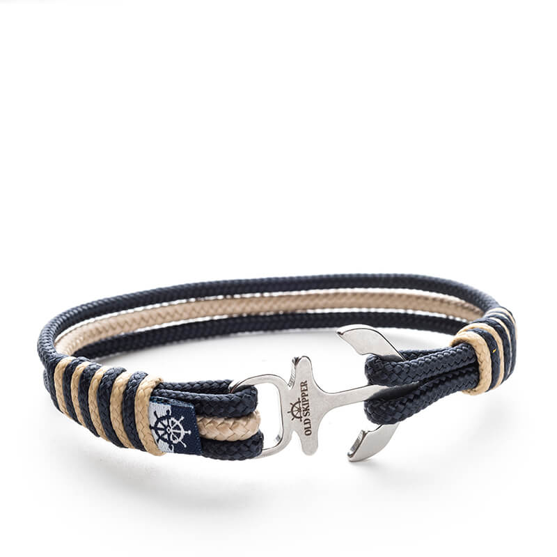 Lossi Nautical Marine Rope Anchor Bracelets