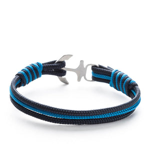 Lucci Nautical Marine Rope Anchor Bracelets