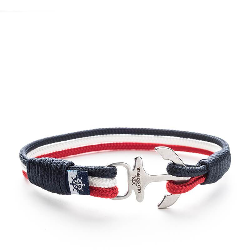 Columbus - Nautical Rope Anchor Bracelet