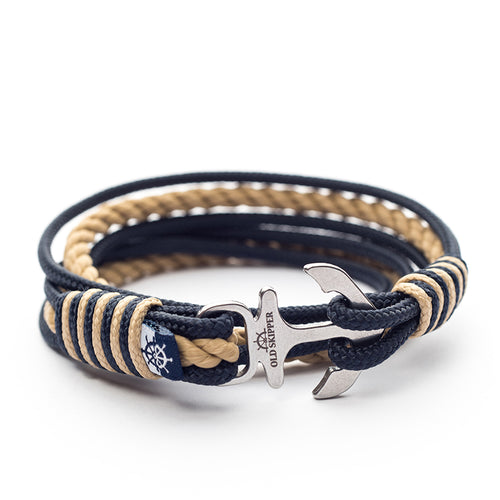 Garnetti Nautical Marine Rope Anchor Bracelets