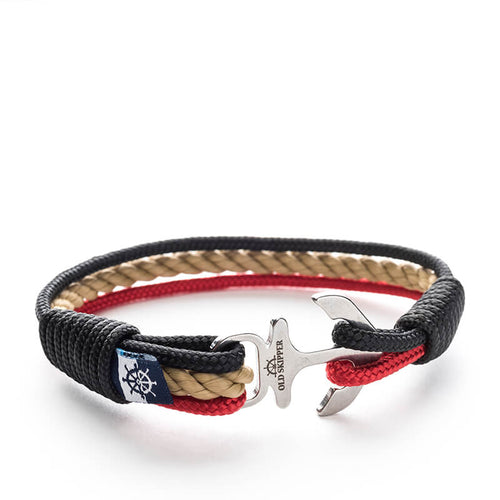 Efia - Nautical Rope Anchor Bracelet