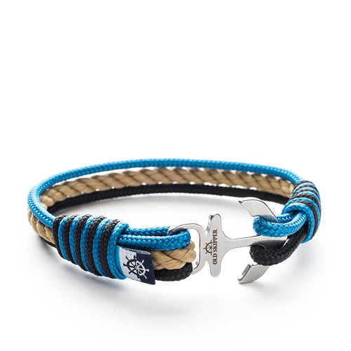 Jaxtyn - Nautical Rope Anchor Bracelet