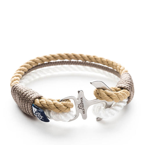 Alameda - Nautical Rope Anchor Bracelet