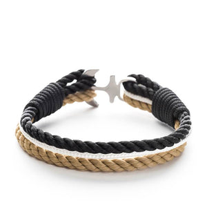 Calico Jack - Nautical Rope Anchor Bracelet