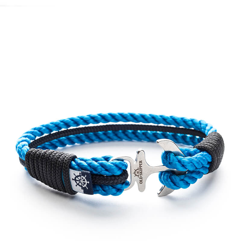Azzuro - Nautical Boat Marine Rope Anchor Bracelet