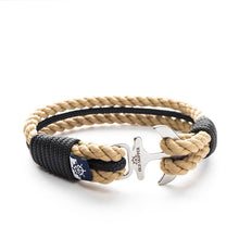 Rustung Nautical Marine Rope Anchor Bracelets