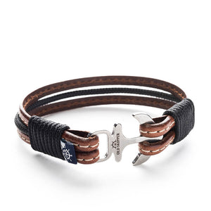 Browne - Nautical Leather Bracelet