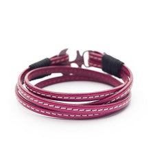Atargatis Nautical Italian Leather Anchor Women Bracelets