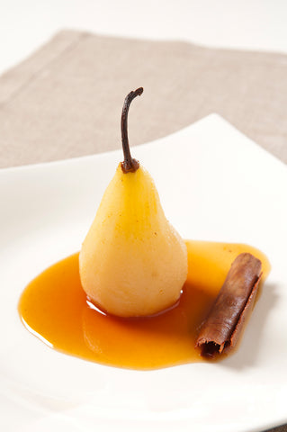 Poached Pears with Ginger