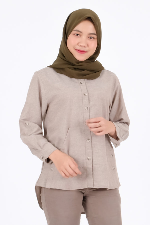 Briel Shirt Brown