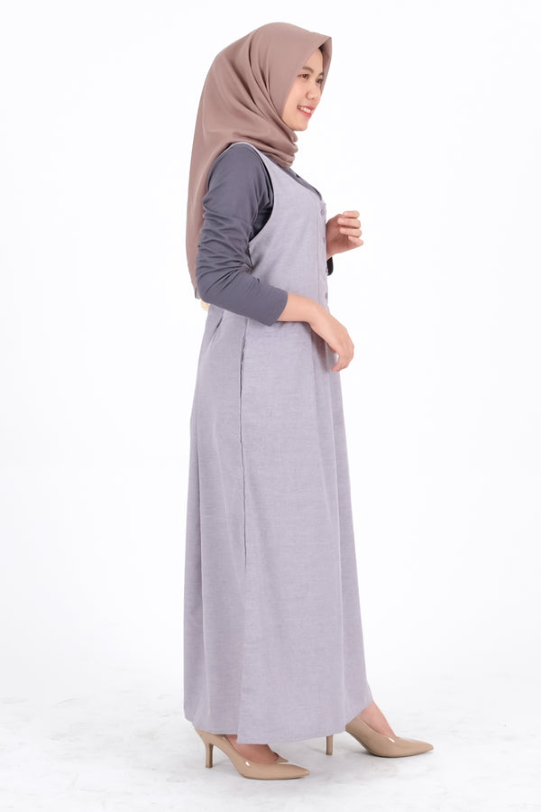 Syifa Overall Dark Grey
