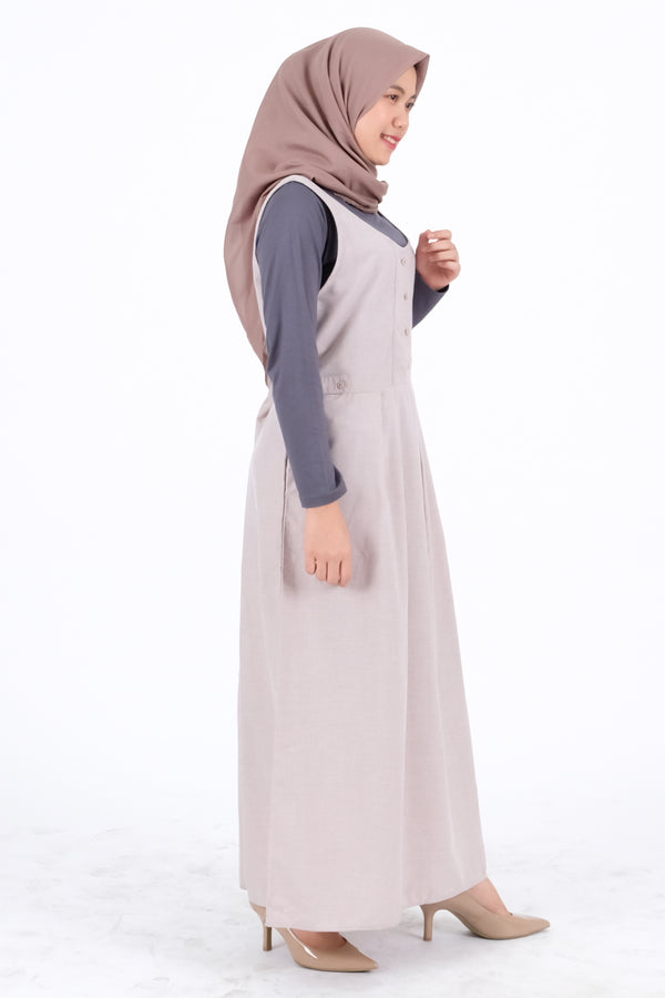 Syifa Overall Light Brown