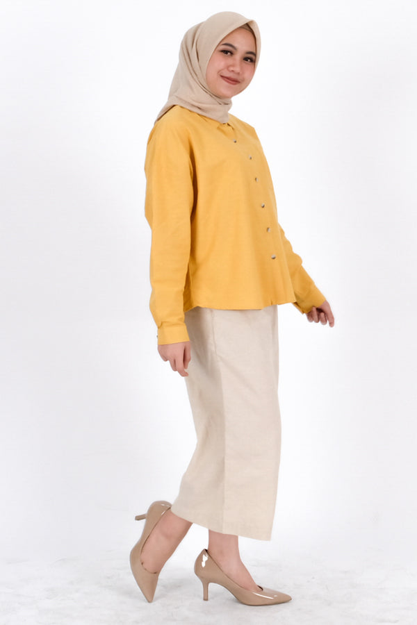 Abilyn Shirt Yellow