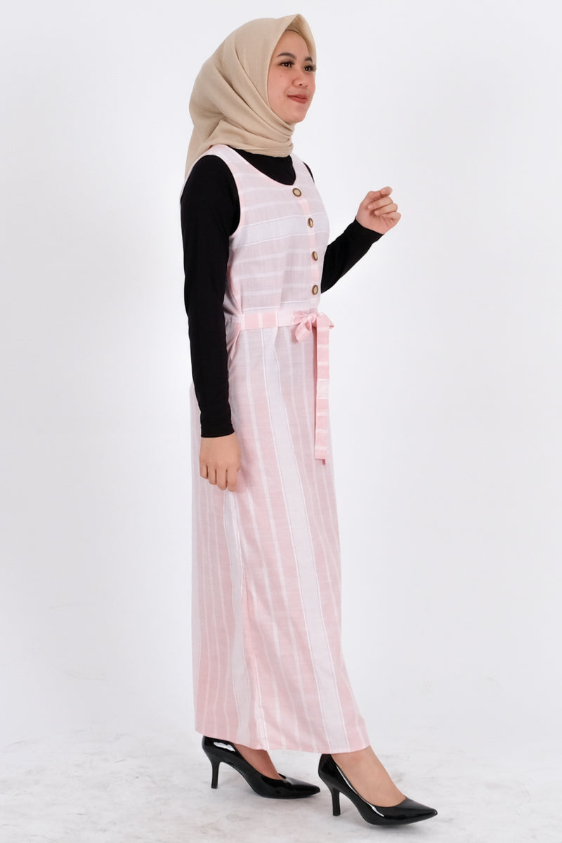 Charlotte Overall Pink