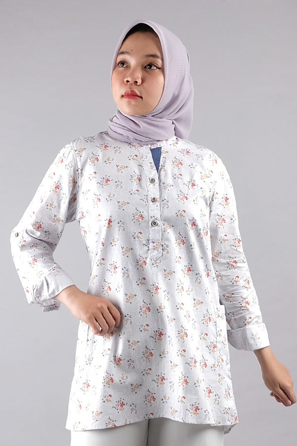 Amalia Tunic Light Blue
