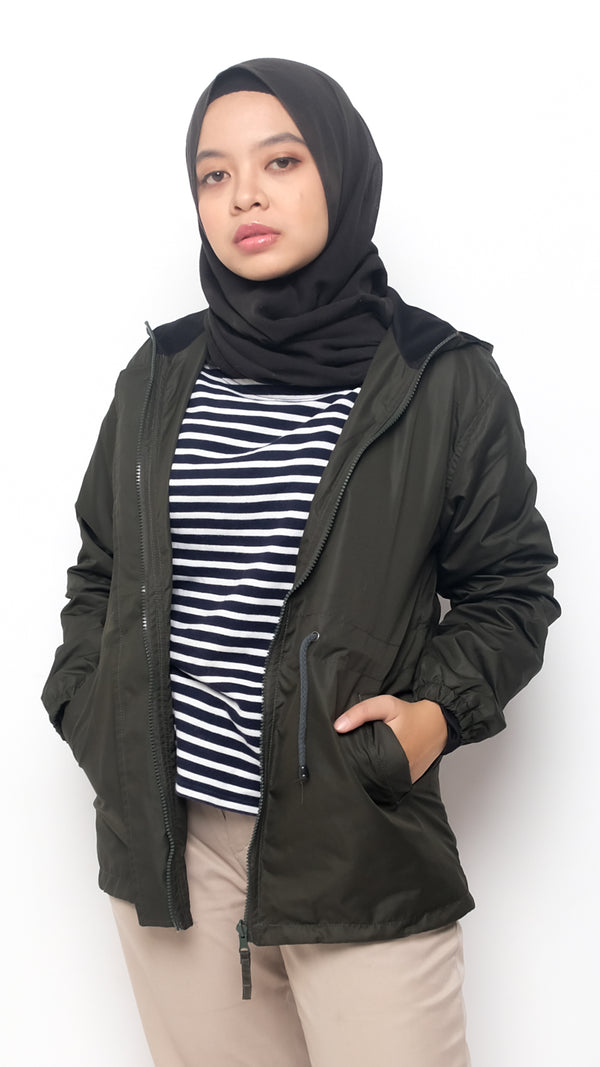 Morena Jacket Army -  Classic Version