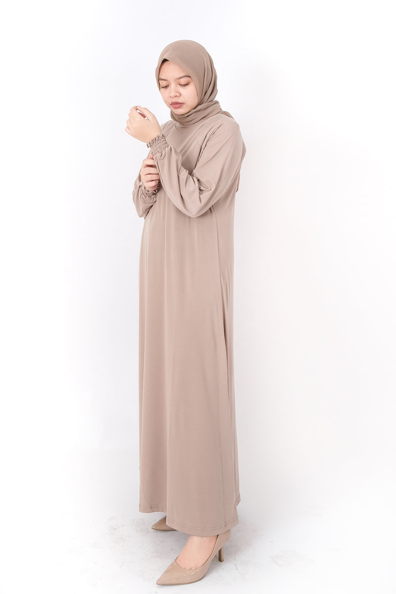 Nolla Dress Manset Cream