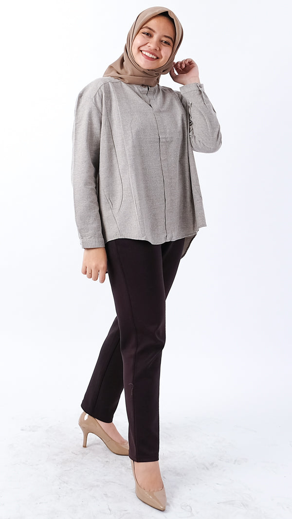 Daisy Blouse Grey