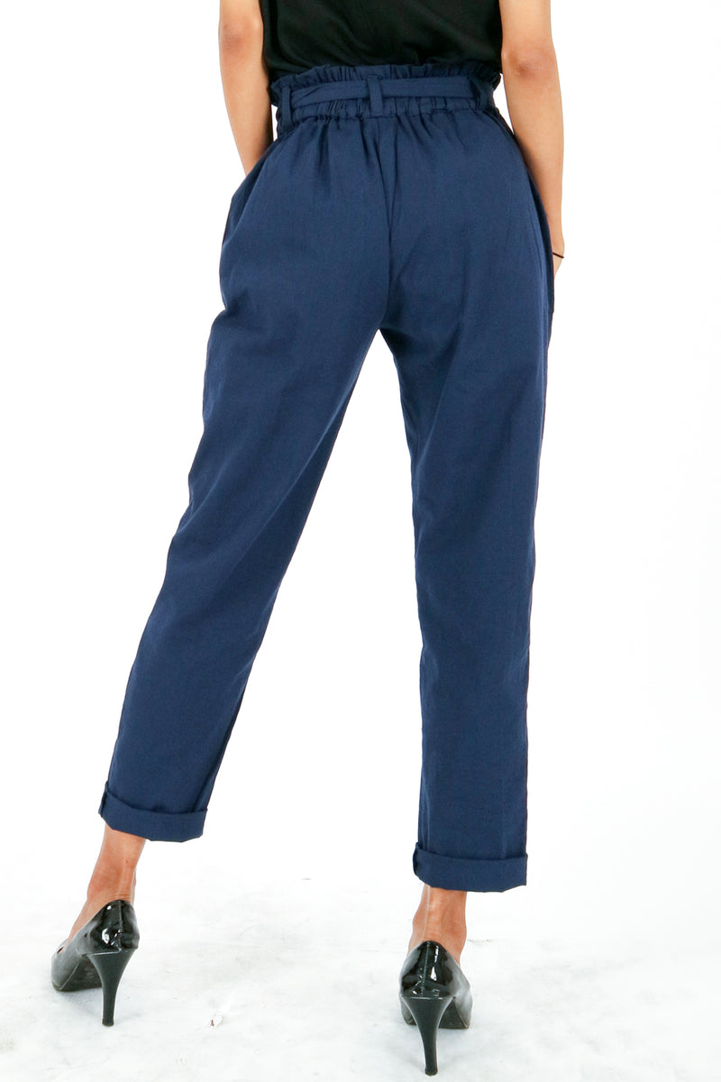 Kanaya Regular Pants Navy