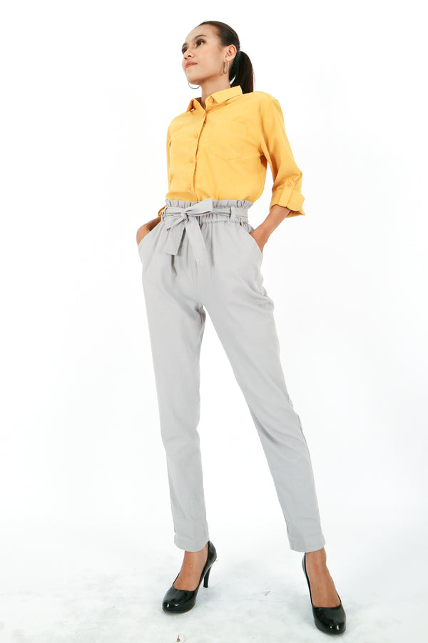 Kanaya Regular Pants Grey