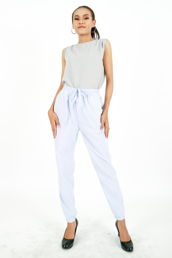 Kaira Jogger Pants Light Blue