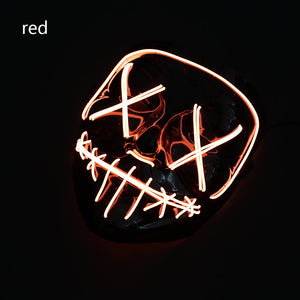 Mazkeen Halloween Mask Purge LED Mazkeen Sale red