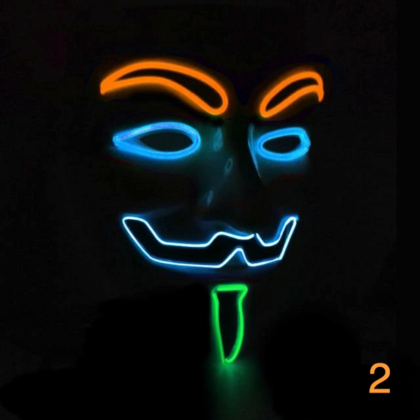 Anonymous Mask LED