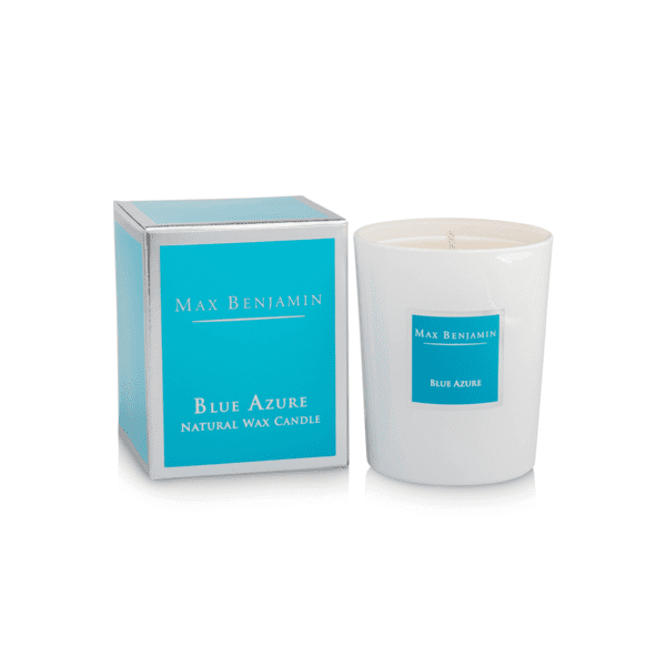 MAX BENJAMIN BLUE AZURE LUXURY NATURAL CANDLE
