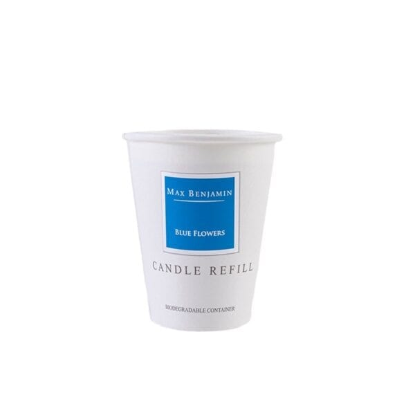 MAX BENJAMIN BLUE FLOWERS LUXURY NATURAL CANDLE REFILL
