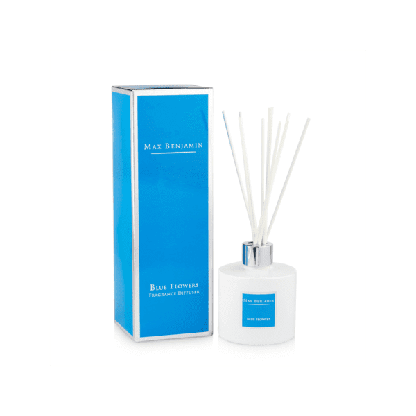 MAX BENJAMIN BLUE FLOWERS LUXURY DIFFUSER