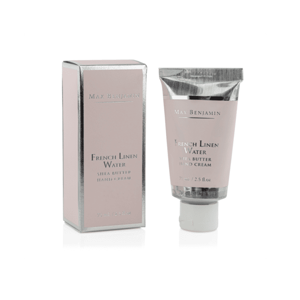 MAX BENJAMIN FRENCH LINEN WATER LUXURY HANDCREAM