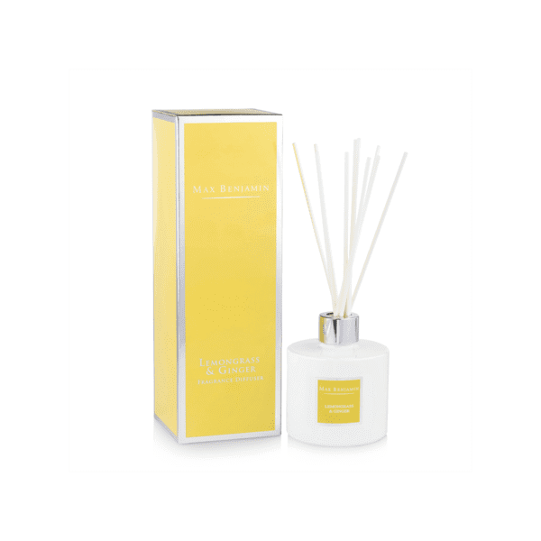 MAX BENJAMIN LEMONGRASS & GINGER LUXURY DIFFUSER