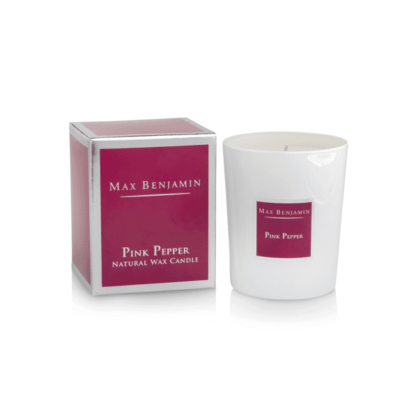 MAX BENJAMIN PINK PEPPER LUXURY NATURAL CANDLE