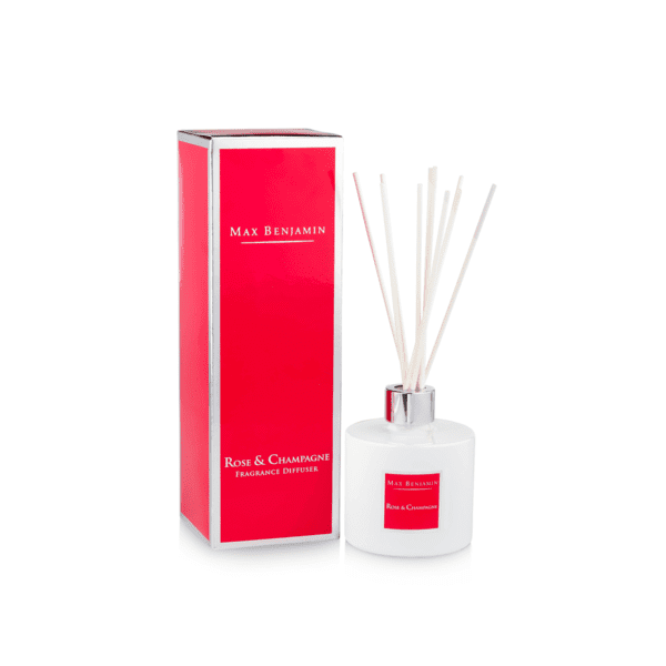 MAX BENJAMIN ROSE AND CHAMPAGNE LUXURY DIFFUSER