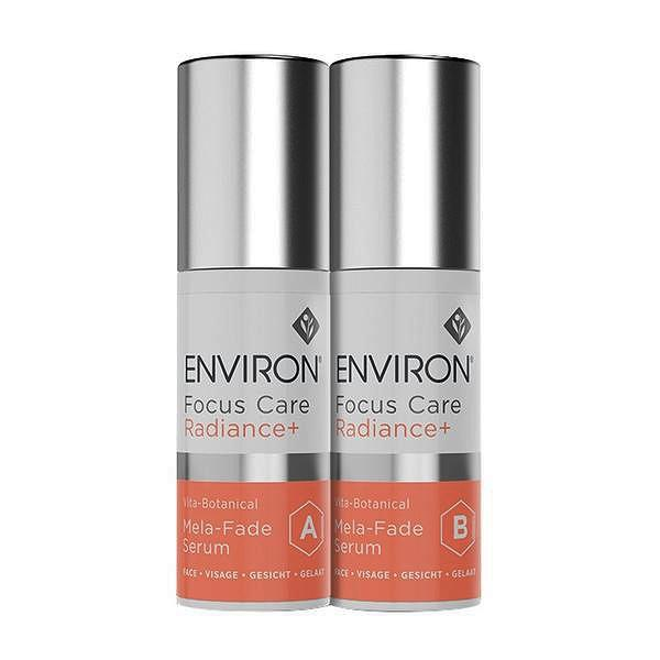 Environ Focus Care™ Radiance+ Range VITA-BOTANICAL  MELA-FADE SERUM SYSTEM, X2 30ml