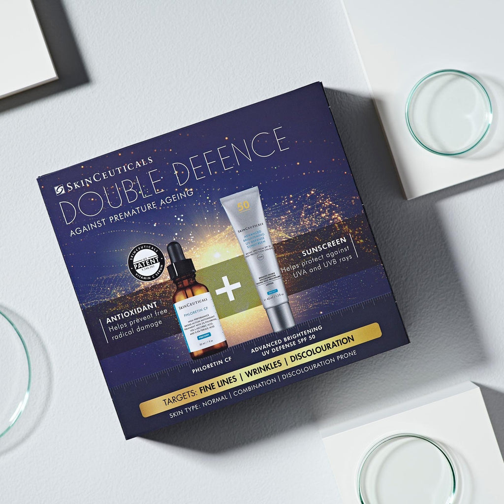 SkinCeuticals Phlorentin CF Double Defence Kit for Normal/Combination Skin  (FREE SPF save €52)